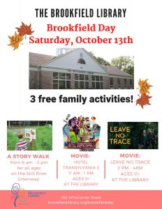 brookfield day at the library