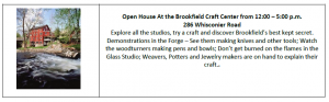 Brookfield day Craft Center