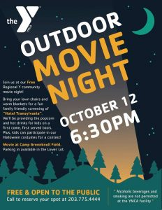Outdoor Movie Night YMCA Brookfield