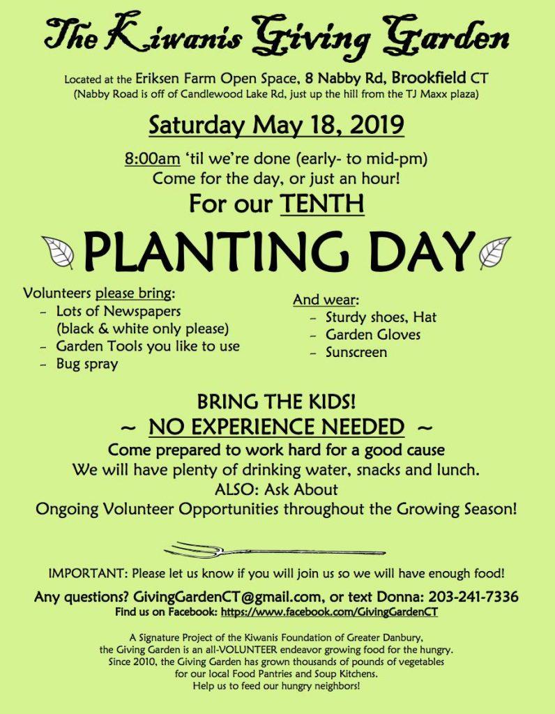 The Kiwanis Giving Garden 2019
