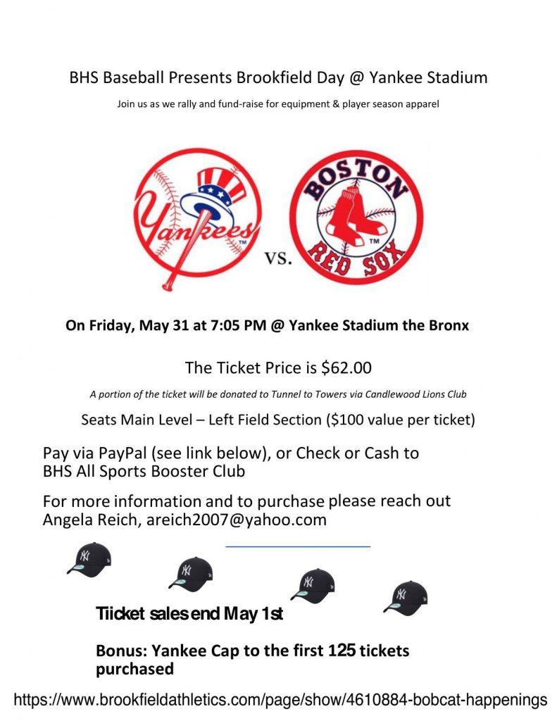 Brookfield Day at Yankee Stadium