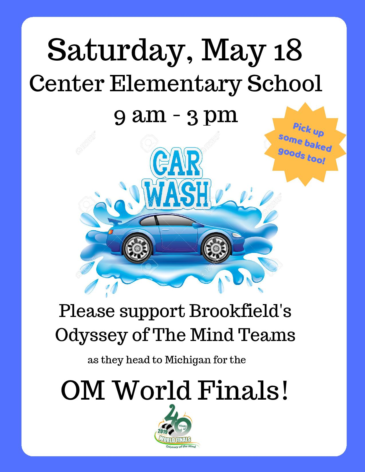 Car Wash Odyssey of the mind Brookfield