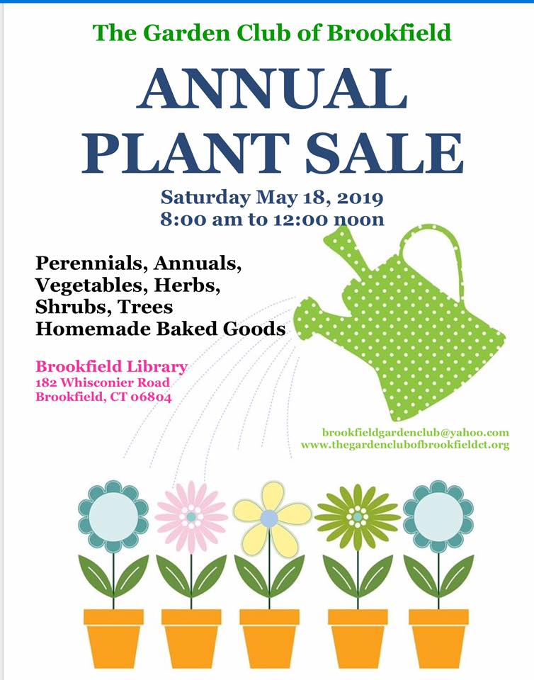 The Garden Club of Brookfield Annual Plant Sale