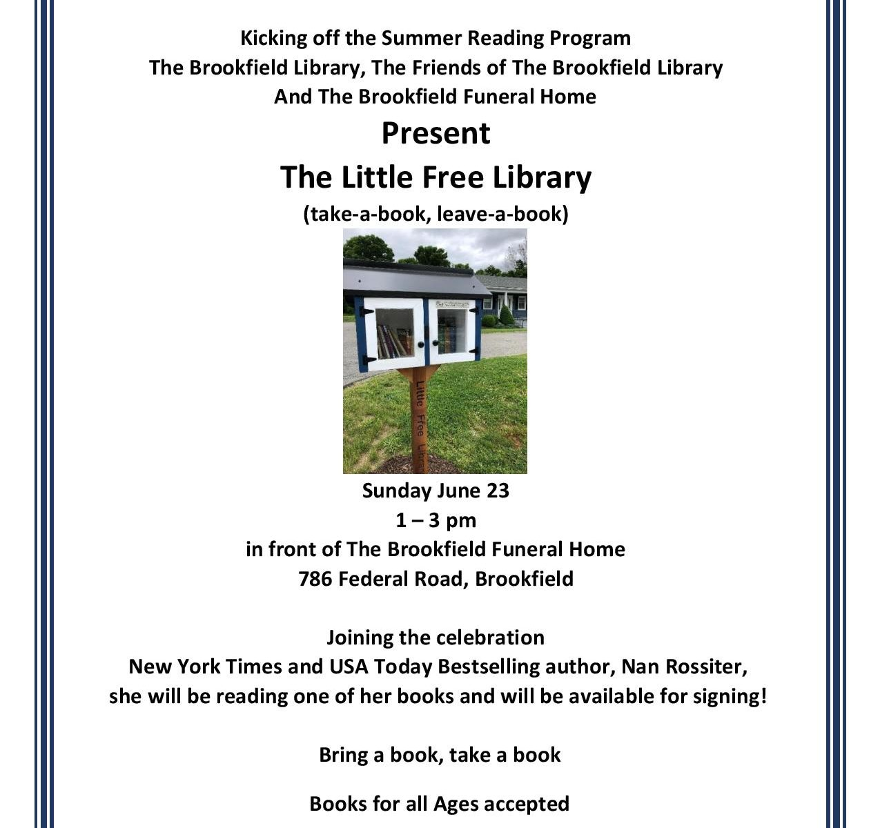 Little Free Library Brookfield